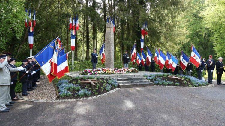 Commémorations des victimes et héros de la déportation le 29 avril 2017