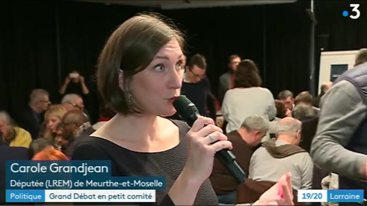 19/20 France 3 Lorraine – Grand Débat autour de Carole Grandjean