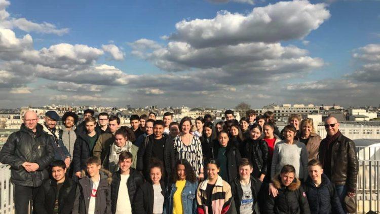 Visite du Collège Georges De la Tour à l'Assemblée Nationale – 19 mars 2019