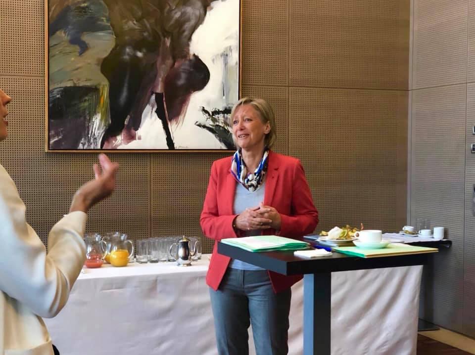 Handicap : petit-déjeuner avec Sophie Cluzel – 30 avril 2019