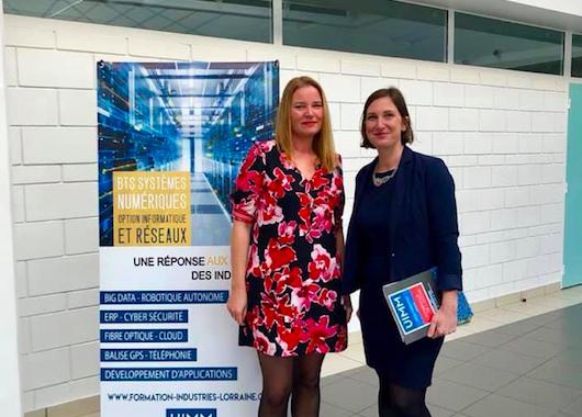 Visite de l'UIMM de Lorraine – 1er avril 2019
