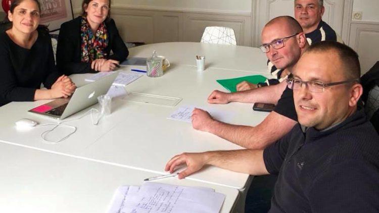 Réunion avec FO pénitentiaire – 6 mai 2019