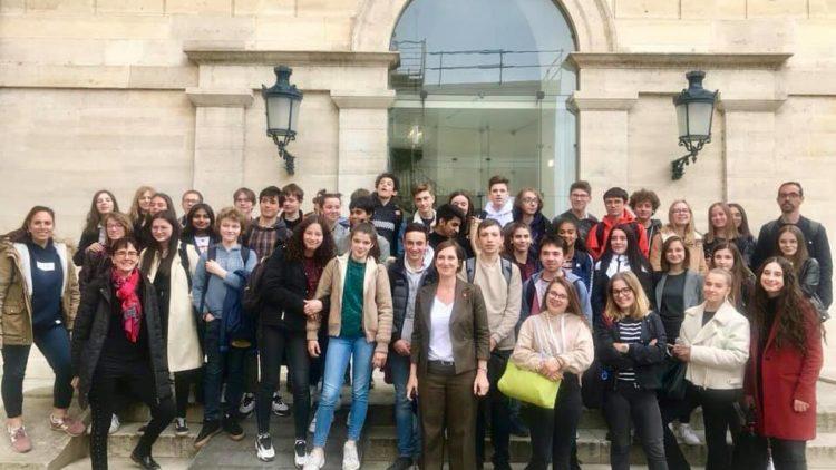 Le Collège de la Craffe visite l'Assemblée Nationale – 7 mai 2019