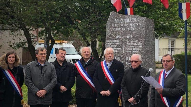 Commémoration du 8 mai 1945 à Mazerulles et Brin-sur-Seille- 8 mai 2019