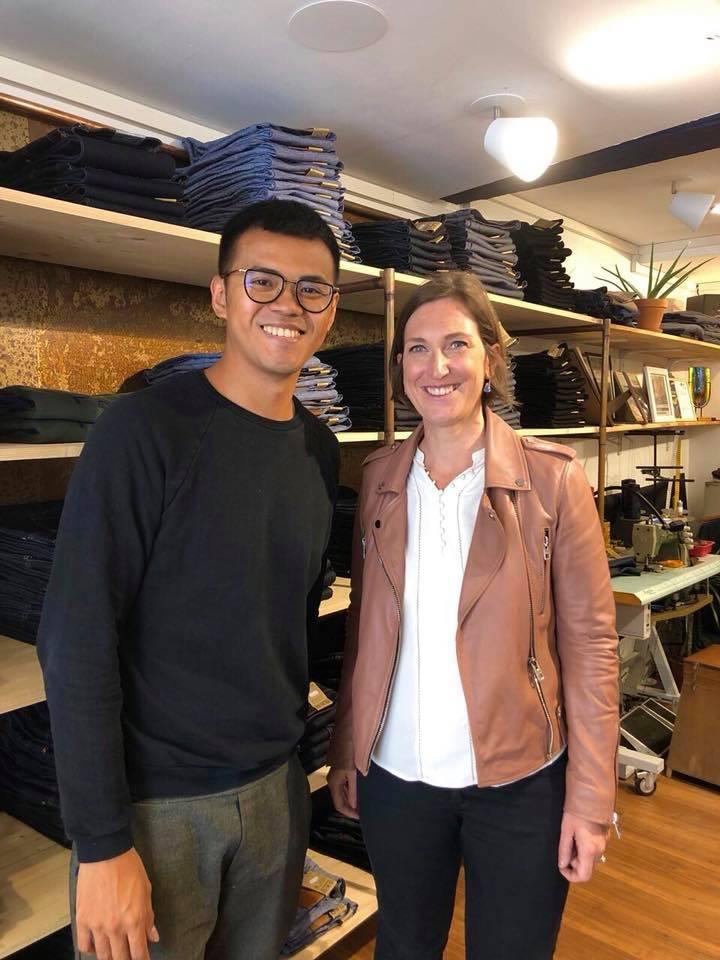 Visite de Daodavy : les jeans made in France – 14 juin 2019