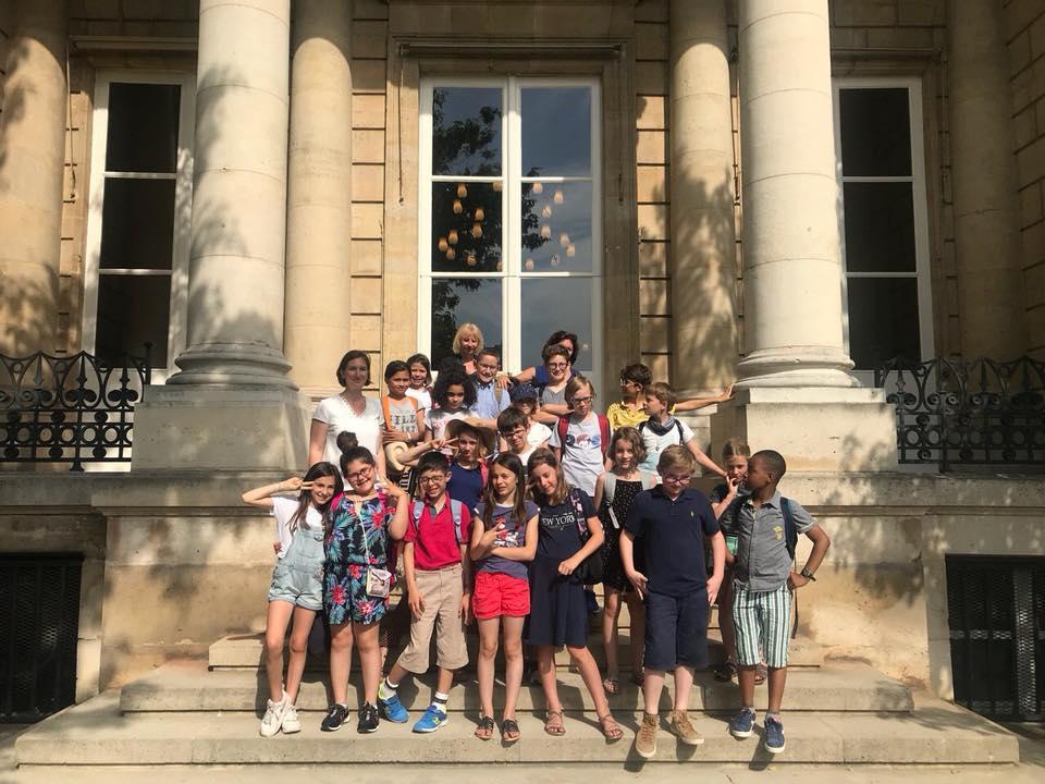 Les élèves de CM2 de Saint Jean-Baptiste de la Salle à l'Assemblée nationale – 25 juin 2019