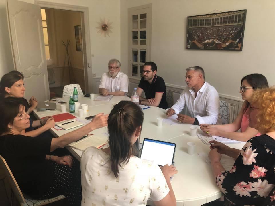 Audition des Syndicats Employeurs et des Chambres Professionnelles- 27 juin 2019