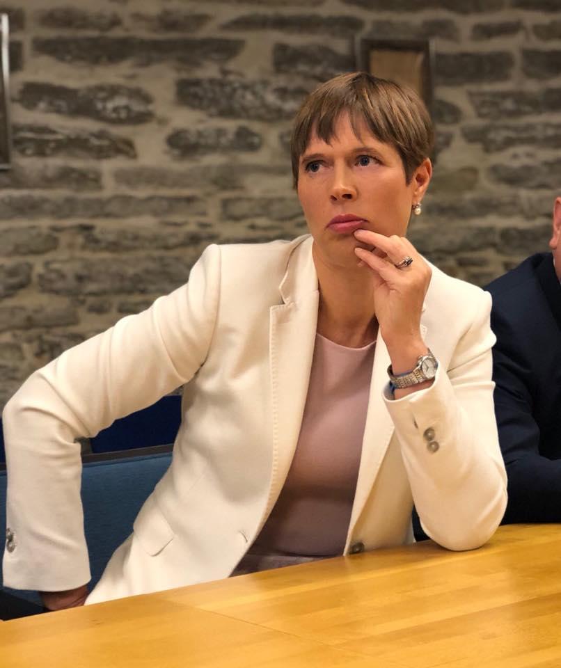 Rencontre avec la Présidente de l'Estonie, Kersti Kaljulaid – 4 juillet 2019