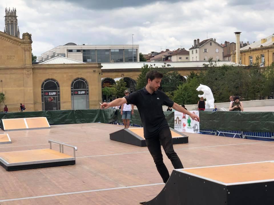 Un skate Park éphémère à Nancy ! – 13 juillet 2019