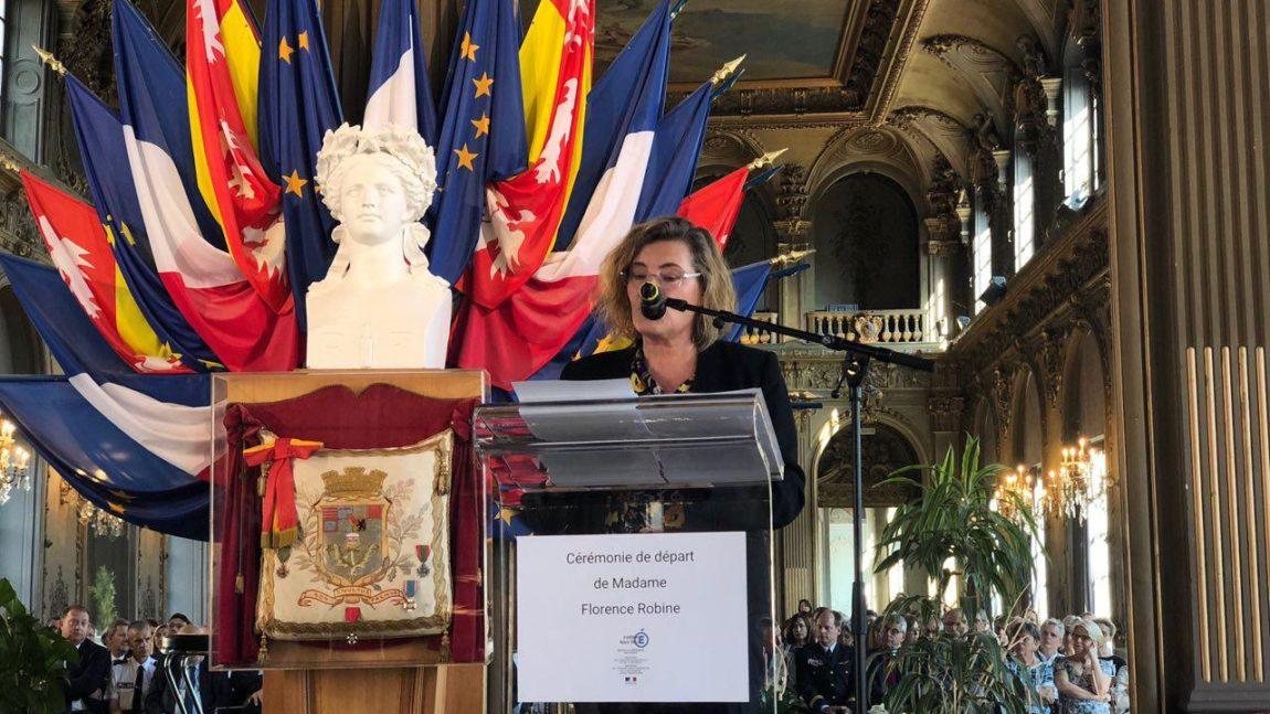 Départ de la Rectrice Académique Florence Robine – 15 juillet 2019