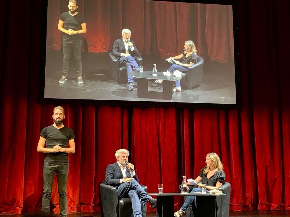Laurent Gaudé à l'Opéra – 13 septembre 2019