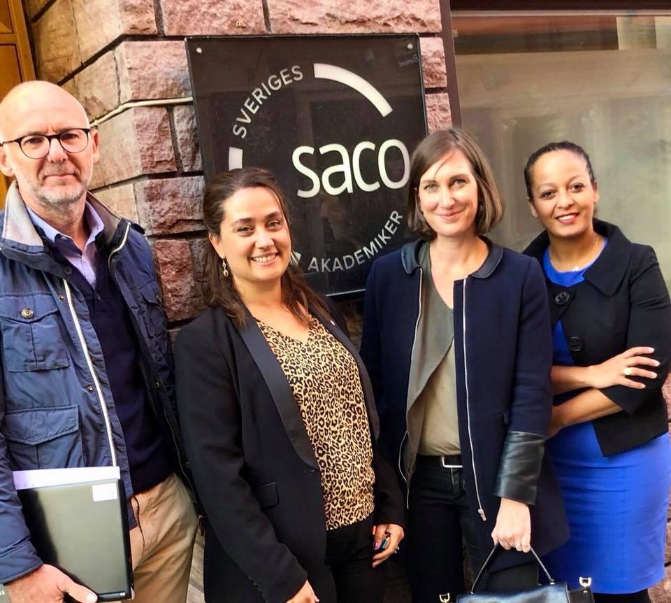 échanges avec les membres de la Confédération SACO – 25 septembre 2019