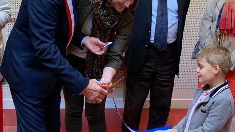 Inauguration de la nouvelle mairie de Laneuvelotte – 21 septembre 2019