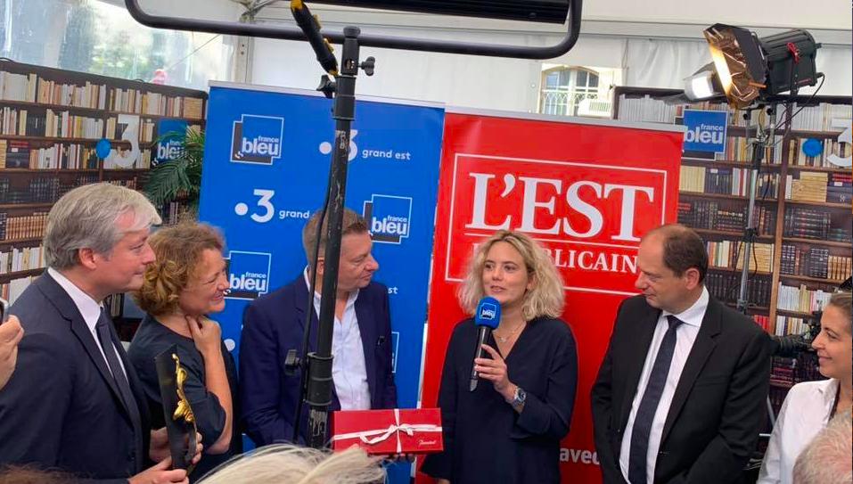 Remise de la feuille d'or de la Ville de Nancy – prix des médias – 14 septembre 2019