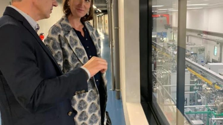 Visite de l'Institut Jean Lamour – 7 octobre 2019
