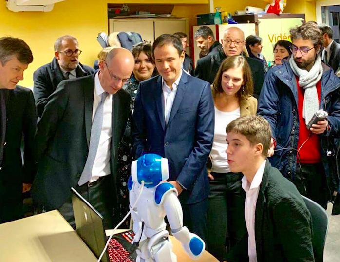 Les enseignements numériques au lycée Loritz – 19 novembre 2019