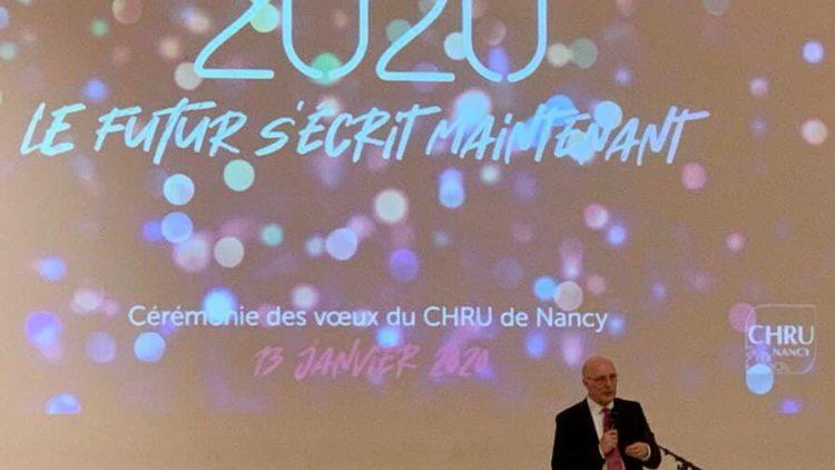 Cérémonie des voeux du CHRU de Nancy – 13 janvier 2020