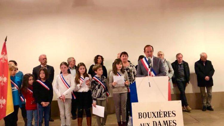 Cérémonie des voeux – Bouxières-aux-Dames – 6 janvier 2020