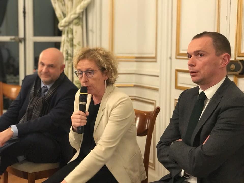 Echanges sur la reforme des retraites au Ministère du Travail – 17 janvier 2020