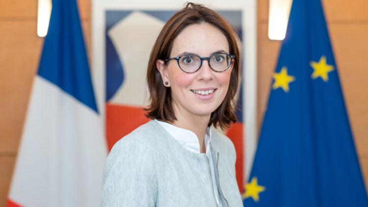 La Secrétaire d'Etat chargée des Affaires Européennes avec le Grand Est – 29 avril 2020