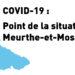 COVID-19 : point de la situation – 27 novembre 2020