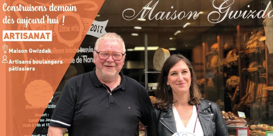 Aux côtés des artisans de la boulangerie-pâtisserie Gwizdak – 11 juin 2020