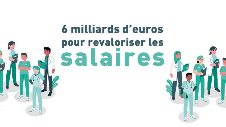6 milliards d'euros annoncés dans le cadre du Ségur de la santé ! – 25 juin 2020