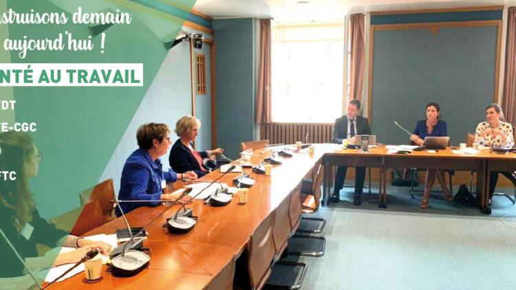 Nous préparons la proposition de loi santé au travail – 01.07.20