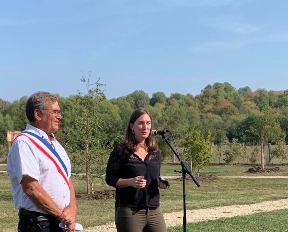 Inauguration du parcours de santé à Moncel-sur-Seille – 19 septembre 2020