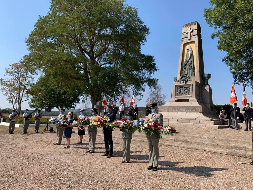 106ème anniversaire des combats du Grand Couronné – 18 septembre 2020