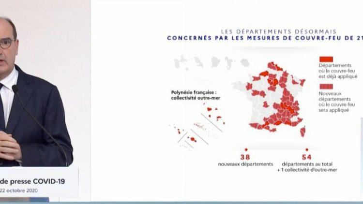 Déclaration du Premier Ministre Jean CASTEX – 22 octobre 2020