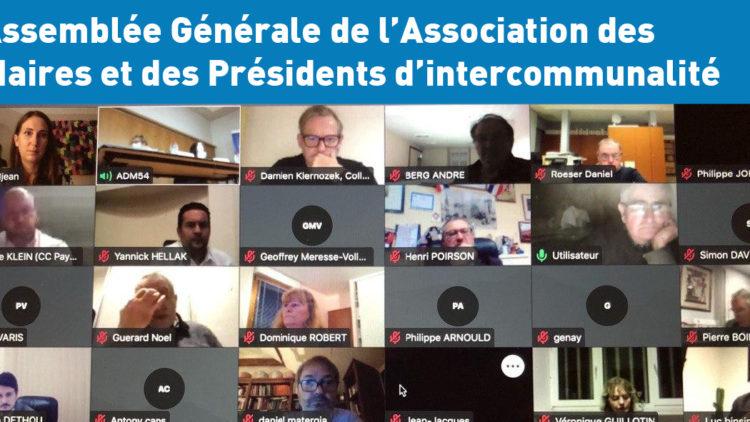 Assemblée Générale de l'Association des maires de Meurthe-et-Moselle – 19 novembre 2020