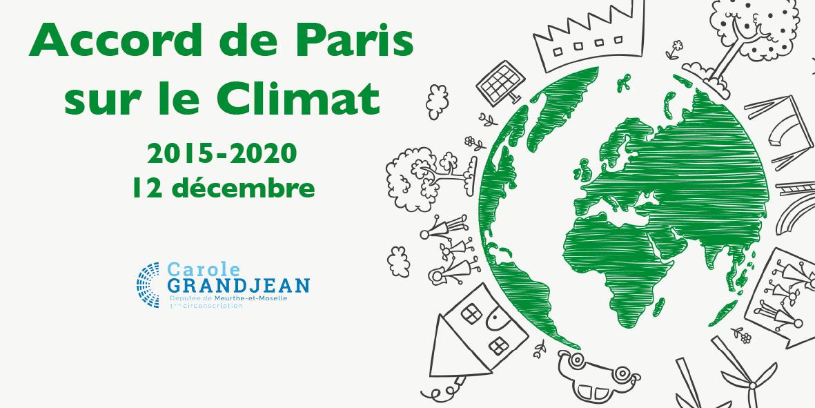 5 ans de l'Accord de Paris – 12 décembre 2020