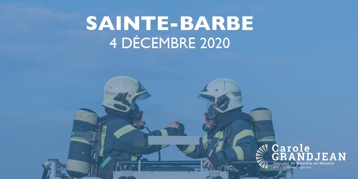 Nous célébrons la Sainte-Barbe ! – 4 décembre 2020