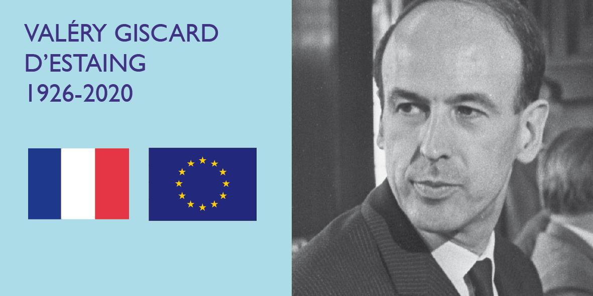 L'ancien Président de la République Valéry Giscard d'Estaing nous quitte – 2 décembre 2020