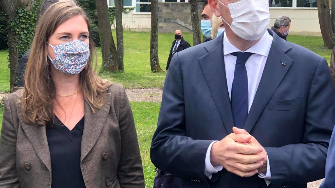 Le Premier Ministre et le Ministre de l'Education Nationale en Meurthe-et-Moselle – 3 mai 2021