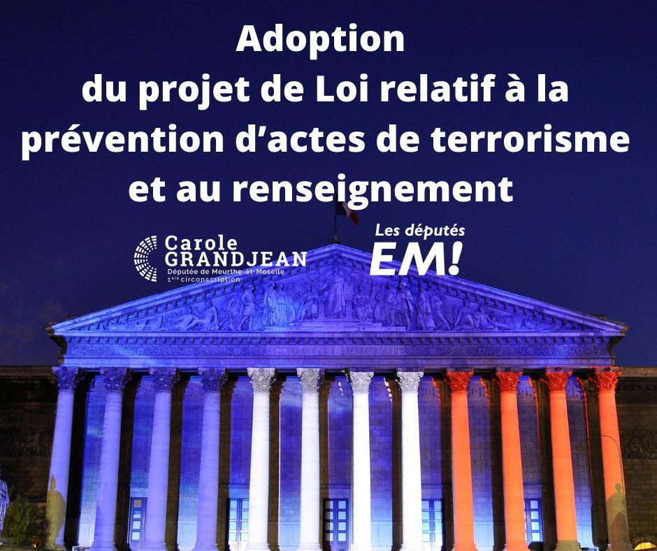 Les députés adoptent des mesures fortes pour lutter contre le terrorisme – 1er juin 2021
