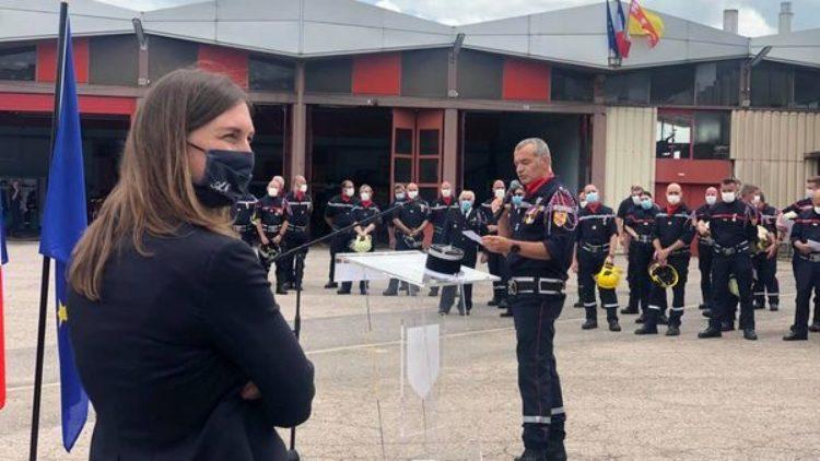 auprès des pompiers de Meurthe-et-Moselle – 12 juin 2021
