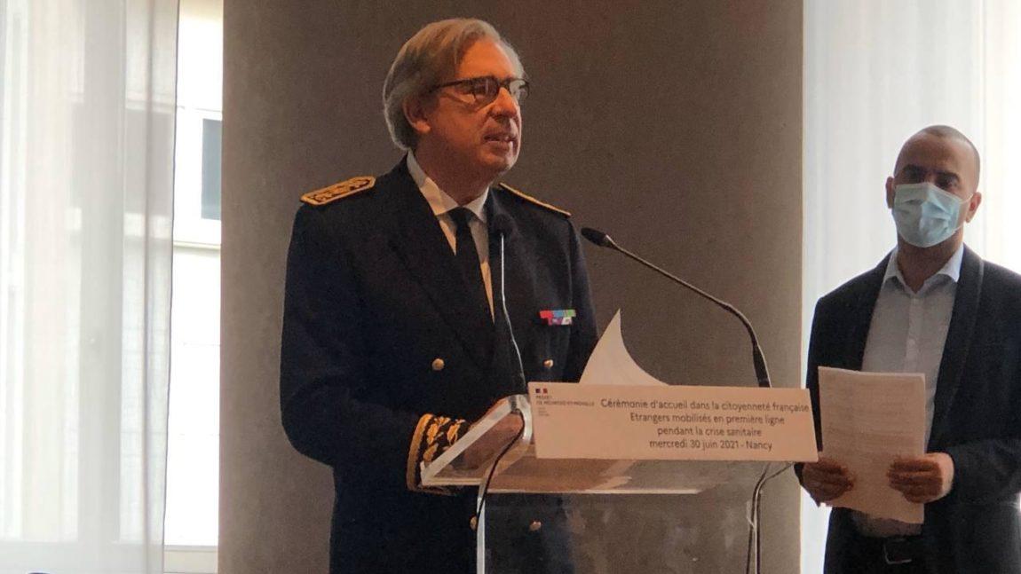 Cérémonie d'accueil dans la nationalité Française  – 30 juin 2021