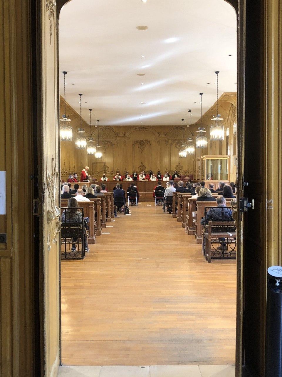 audience solennelle de rentrée de la Cour d'Appel de Nancy – 3 septembre 2021