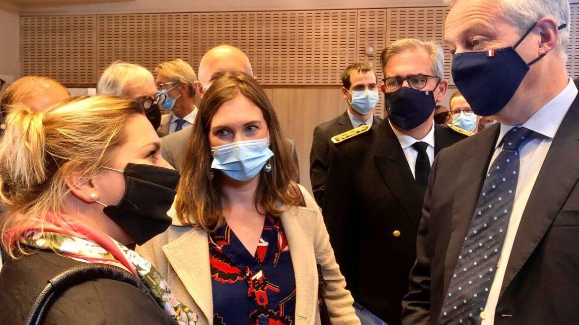 Le Ministre de l'économie et des finances en Meurthe-et-Moselle  – 23 septembre 2021