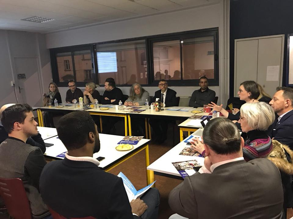Réunion Comité LaREM 54 – 16 mars 2018