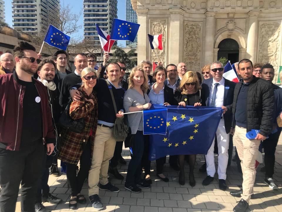 Lancement de la Grande Marche pour l'Europe – 7 avril 2018