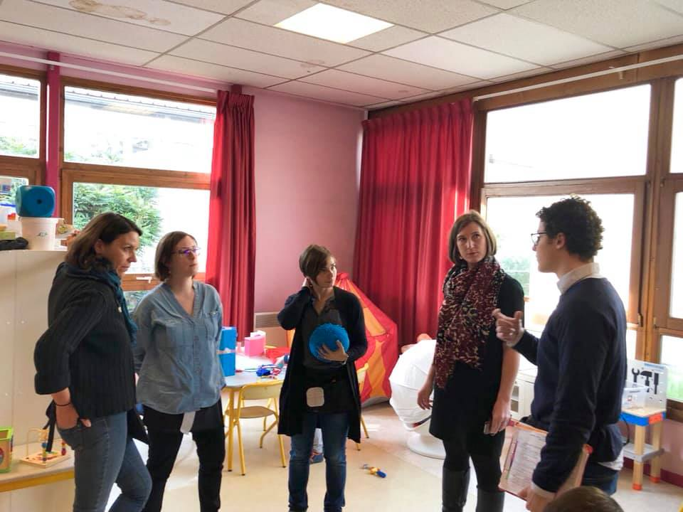 Autisme : visite d'une classe UEMA à Villers-Lès-Nancy – 2 avril 2019