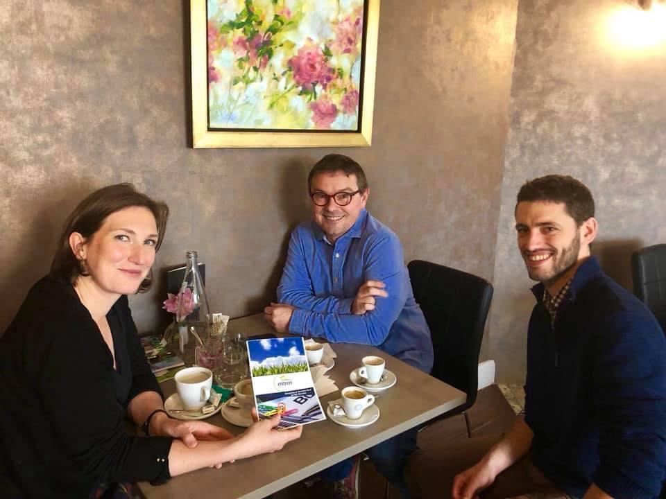 Rencontre avec l'Association ENTREN à Champenoux – 8 avril 2019