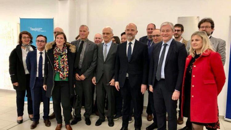 Visite de Pierre Moscovici – Hôpital Virtuel de Lorraine – 6 mai 2019