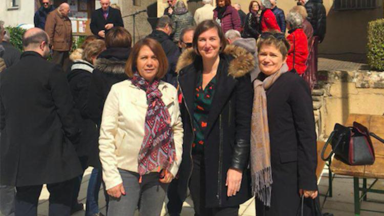 Rénovation de l'Eglise Saint-Médard à Saint-Max : pose de la première pierre – 5 mai 2019