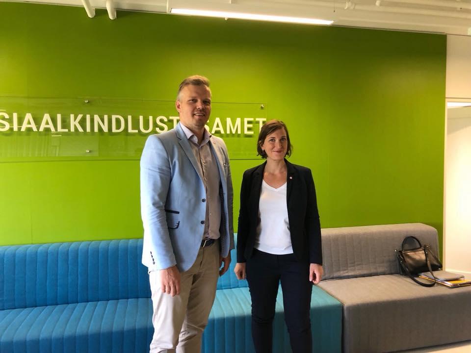 Mission Gouvernementale Fraude Sociale en Estonie – 5 juillet 2019