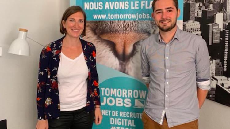 Visite de la start-up Tomorrow job – 29 juillet 2019