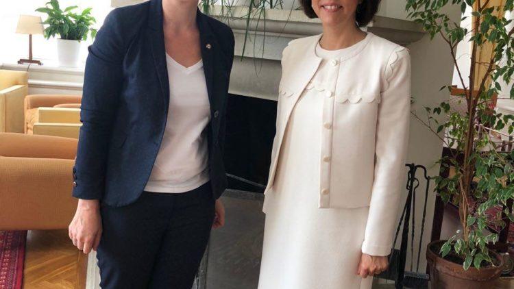 Rendez-vous avec l'Ambassadrice de France en Estonie – 5 juillet 2019